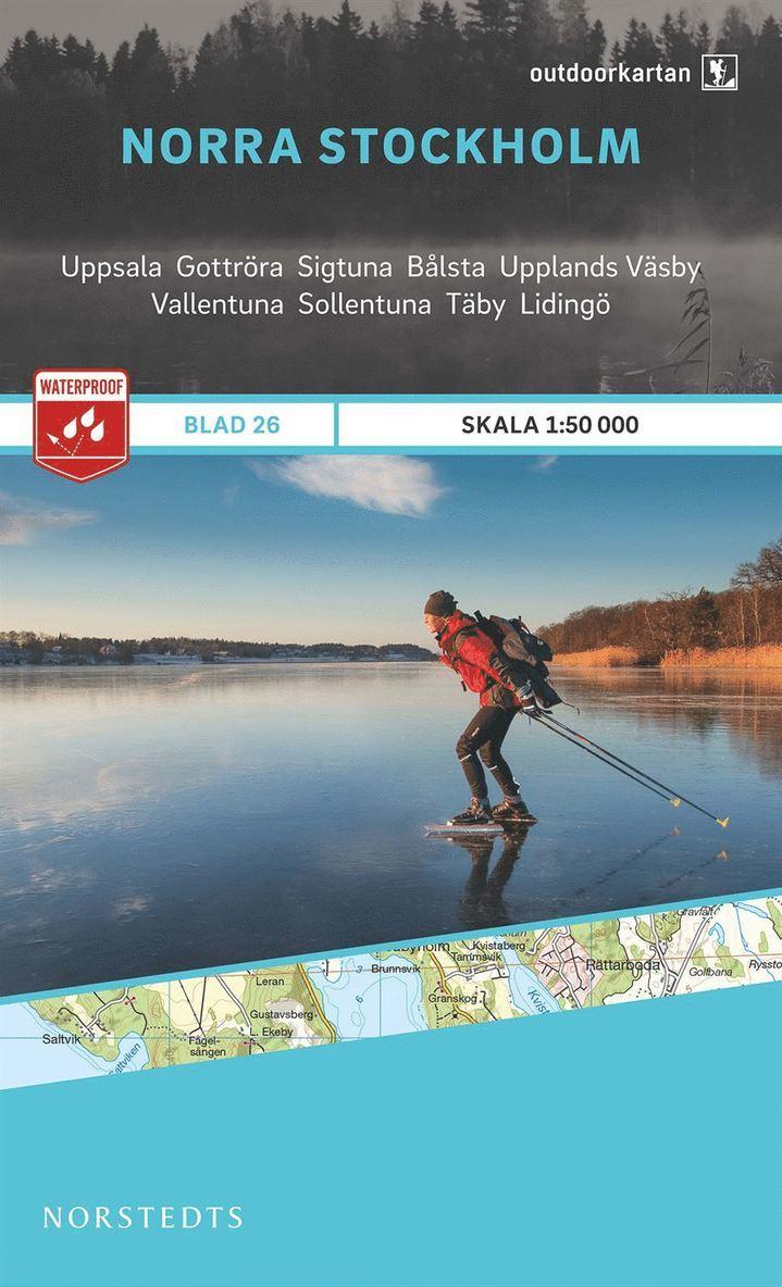 Outdoorkartan Norra Stockholm : Blad 26 skala 1:50000 1
