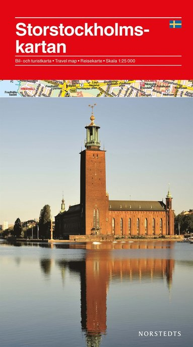 bokomslag Storstockholmskartan : 1:25000
