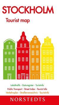 bokomslag Stockholm Tourist map : 1:13000