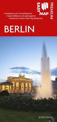 bokomslag Berlin Premium EasyMap stadskarta : 1:20000
