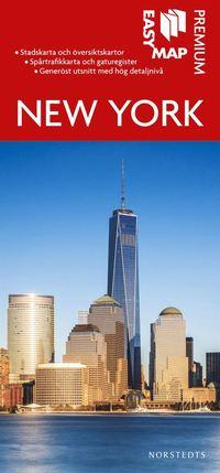 bokomslag New York Premium EasyMap stadskarta : 1:25000