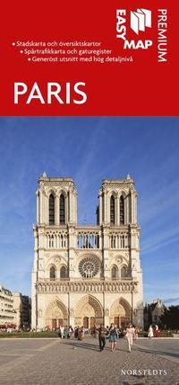 Paris Premium EasyMap stadskarta : 1:15000