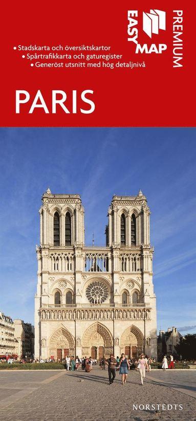 bokomslag Paris Premium EasyMap stadskarta : 1:15000
