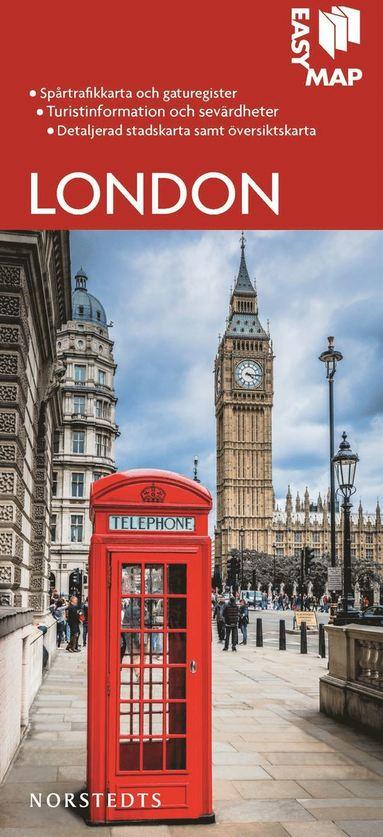 bokomslag London EasyMap stadskarta