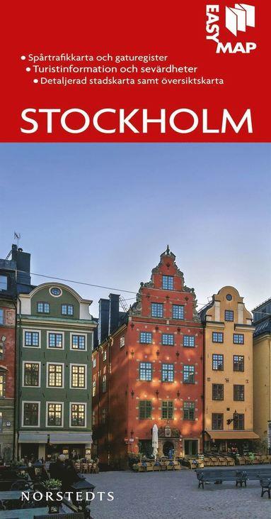 bokomslag Stockholm EasyMap stadskarta