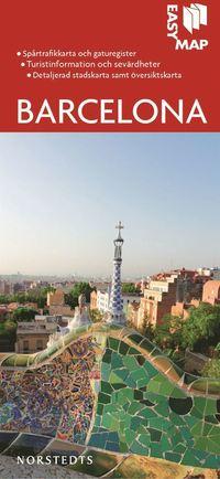 bokomslag Barcelona EasyMap stadskarta