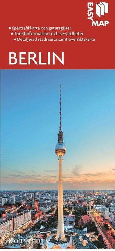 bokomslag Berlin EasyMap stadskarta