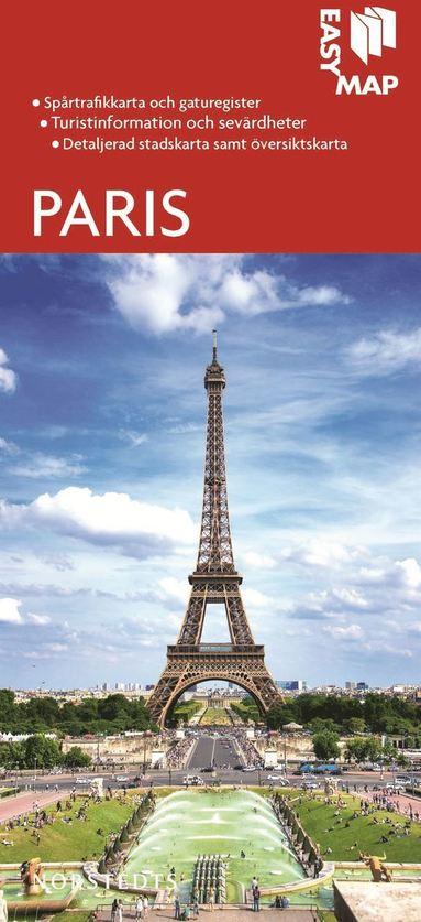 bokomslag Paris EasyMap stadskarta