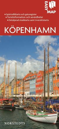 Köpenhamn EasyMap stadskarta