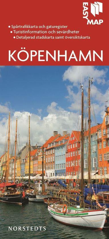bokomslag Köpenhamn EasyMap stadskarta