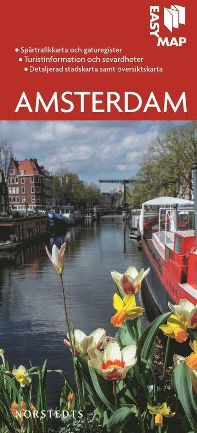 bokomslag Amsterdam EasyMap stadskarta