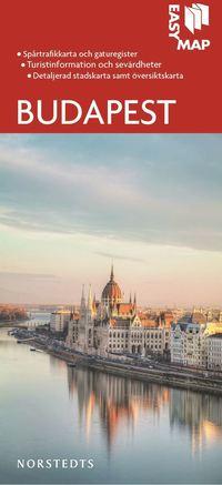 Budapest EasyMap stadskarta
