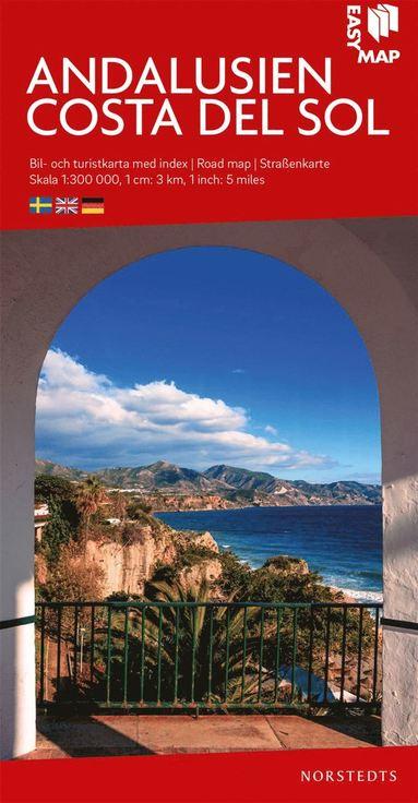 bokomslag Andalusien Costa del Sol EasyMap : Skala 1:300.000