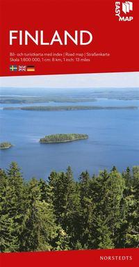 bokomslag Finland EasyMap : Skala 1:800.000