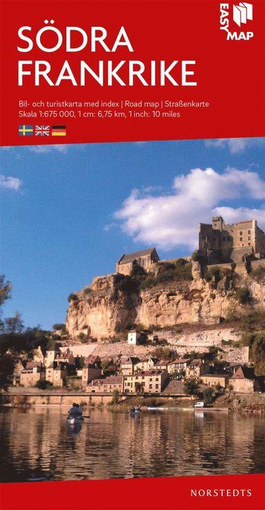 bokomslag Södra Frankrike EasyMap : Skala 1:675.000