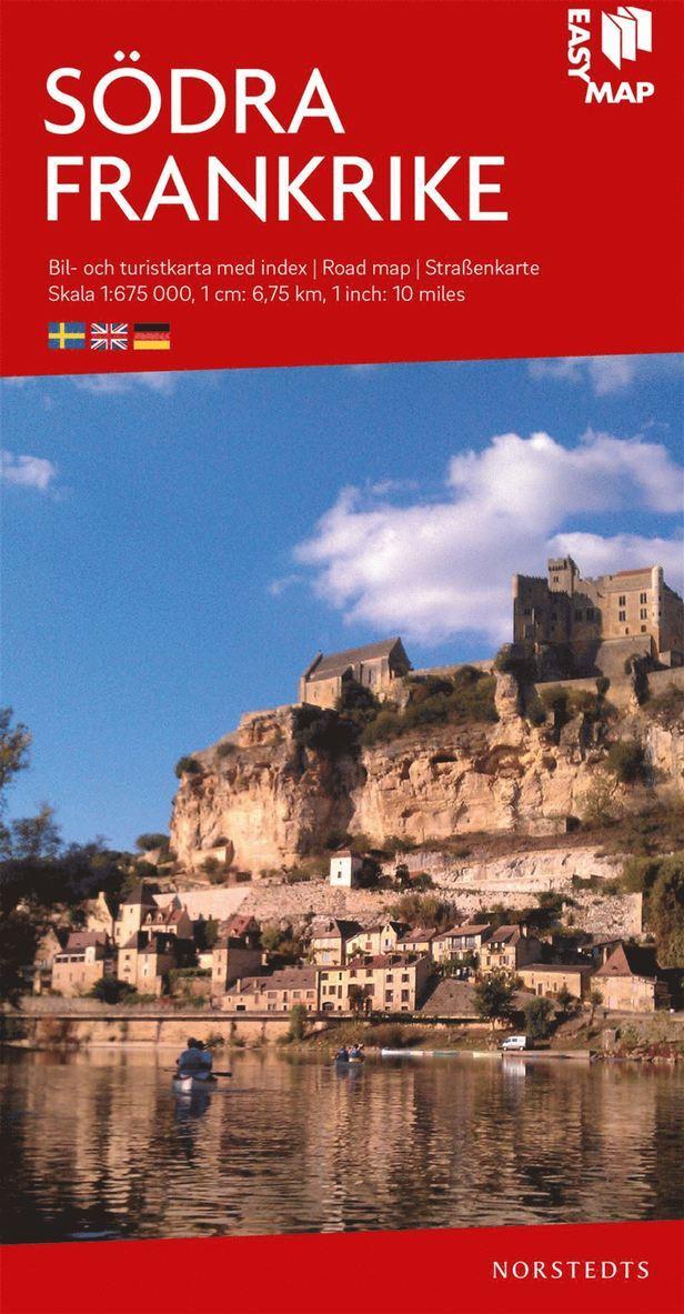 Södra Frankrike EasyMap : Skala 1:675.000 1