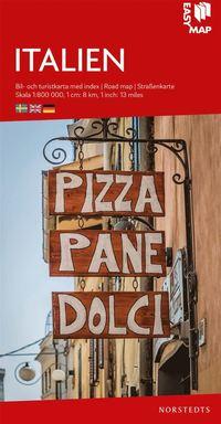 bokomslag Italien EasyMap : Skala 1:800.000