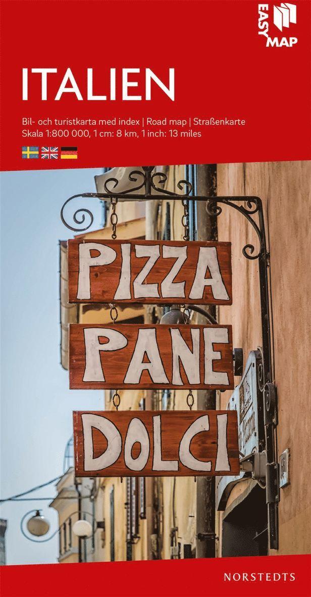 Italien EasyMap : Skala 1:800.000 1