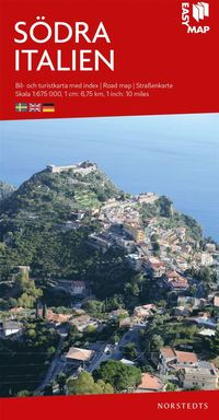 bokomslag Södra Italien EasyMap : Skala 1:675.000