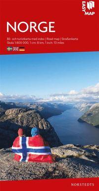 bokomslag Norge EasyMap : Skala 1:800.000