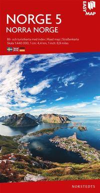 bokomslag Norra Norge EasyMap : Skala 1:440.000