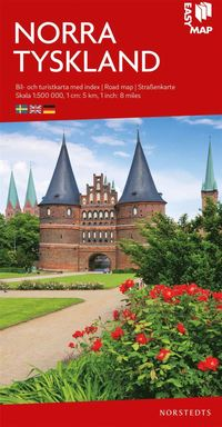 bokomslag Norra Tyskland EasyMap : Skala 1:500.000