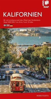 bokomslag Kalifornien EasyMap : Skala 1:800.000