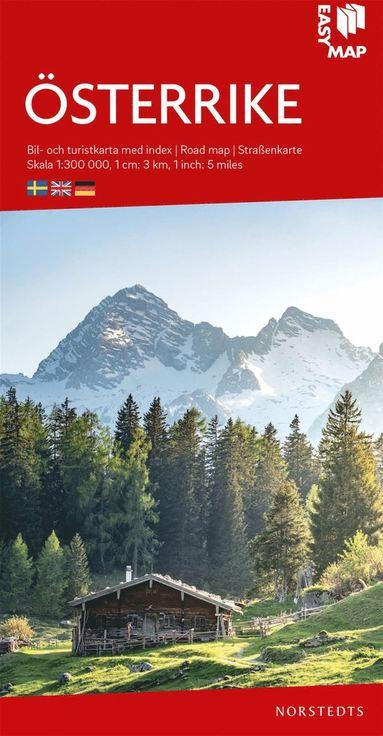 bokomslag Österrike EasyMap : Skala 1:300.000