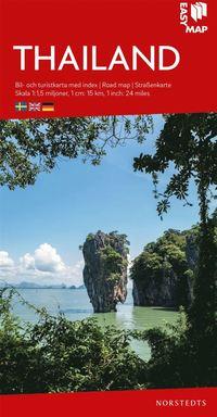 bokomslag Thailand EasyMap : Skala 1:1,5milj