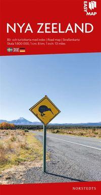 bokomslag Nya Zeeland EasyMap : Skala 1:800.000