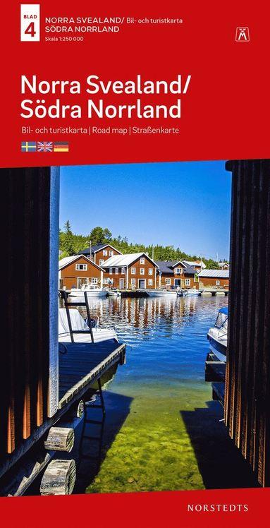 bokomslag Norra Svealand-Södra Norrland B&T Nr 4 : Skala 1:250.000