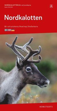 bokomslag Nordkalotten Karta : Skala 1:700.000