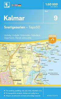 bokomslag 9 Kalmar Sverigeserien Topo50 : Skala 1:50 000