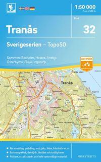 bokomslag 32 Tranås Sverigeserien Topo50 : Skala 1:50 000