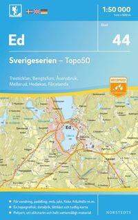 bokomslag 44 Ed Sverigeserien Topo50 : Skala 1:50 000