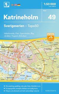 bokomslag 49 Katrineholm Sverigeserien Topo50 : Skala 1:50 000