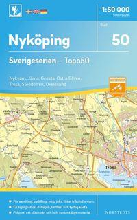 bokomslag 50 Nyköping Sverigeserien Topo50 : Skala 1:50 000