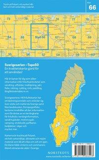 bokomslag 66 Ludvika Sverigeserien Topo50 : Skala 1:50 000