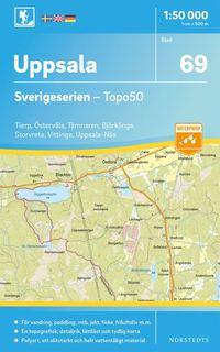 bokomslag 69 Uppsala Sverigeserien Topo50 : Skala 1:50 000