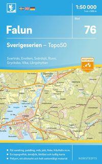 bokomslag 76 Falun Sverigeserien Topo50 : Skala 1:50 000