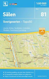 bokomslag 81 Sälen Sverigeserien Topo50 : Skala 1:50 000