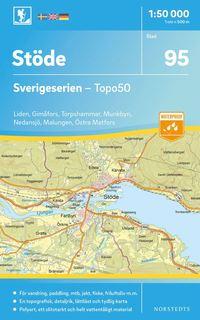 bokomslag 95 Stöde Sverigeserien Topo50 : Skala 1:50 000