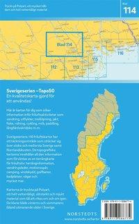 bokomslag 114 Boden Sverigeserien Topo50 : Skala 1:50 000