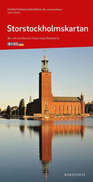 bokomslag Storstockholmskartan : Skala 1:25 000