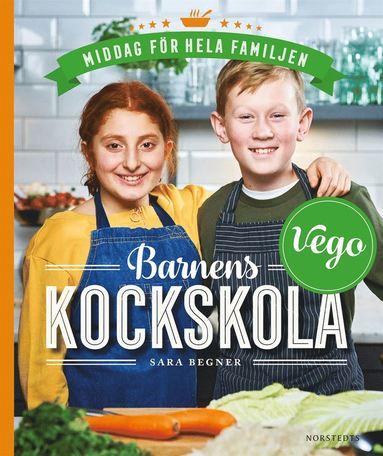 bokomslag Barnens kockskola - vego : middag för hela familjen