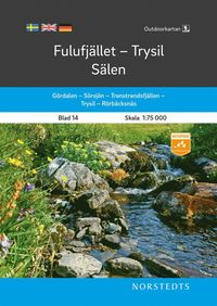 bokomslag Outdoorkartan Fulufjället Trysil Sälen : Blad 14 Skala 1:75 000