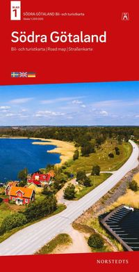 bokomslag Södra Götaland Bil & Turistkarta Nr 1 : Skala 1:250.000