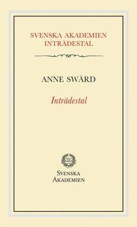 bokomslag Inträdestal av Anne Swärd