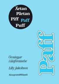 bokomslag Ärtan Pärtan - Paff