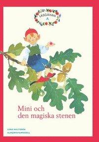 bokomslag Läsgåvan A, Mini och den magiska stenen, Röd